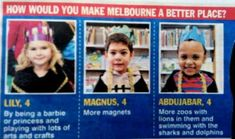 Kids give the best answers.