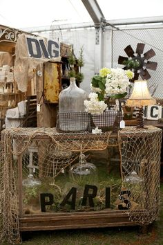 Love this one....so vintage...earthy looking.