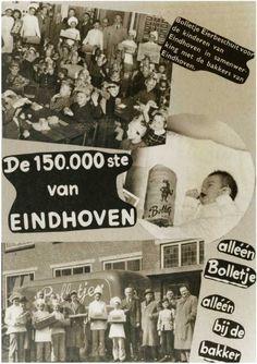 Vandaag 29 maart 2016, is het precies 62 jaar geleden dat Eindhoven zich kon verheugen op de 150.000e inwoner. Het hoogspoor met de viaducten markeerden het begin van een nieuw tijdperk. De eerste contouren van het nieuwe Woensel werden zichtbaar. Eindhoven was een groeistad geworden en burgemeester en wethouders raakten in de ban van de magie van de ronde getallen….. doorklikken!