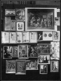 Aby Warburg Mnemosyne-Bildatlas Tafel 46
