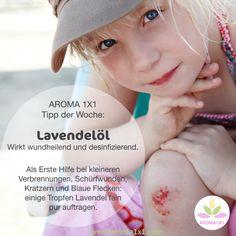 Das ätherische Öl des echten Lavendels gehört in jede Hausapotheke!  Hier ein Tipp, wenn Pusten allein nicht mehr hilft ;-) Noch mehr Tipps mit Lavendelöl findest du auf meinem Blog auf aroma1x1.com