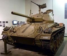 The Chaffee, officially Light Tank, is an American light tank used during the later part of World War II - English M24 Chaffee, Army Usa, Model Tanks, Armored Fighting Vehicle, Military Modelling, Ww2 Tanks, Urban Survival, World Of Tanks, Military Weapons
