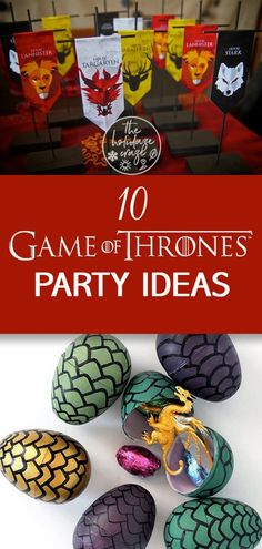 12 Game of Thrones Party Ideas A party is coming. A Game of Thrones party. Bring in the the houses and even the Night's Watch; it's going to be an event they won't want to miss. Read on for 10 Game of Thrones party ideas. Game Of Thrones Decor, Game Of Thrones Party, Game Of Thrones Funny, Game Of Thrones Halloween, Birthday Party Snacks, Adult Birthday Party, Birthday Ideas, Party Food Ideas For Adults Entertaining, Fiesta Games