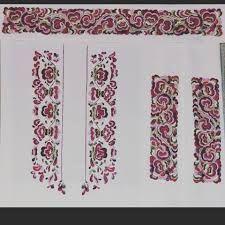 Bilderesultat for broderimønster til bunadskjorte,telemark Floral Tie, Costumes, Band, Accessories, Fashion, Moda, Sash, Dress Up Clothes, Fashion Styles