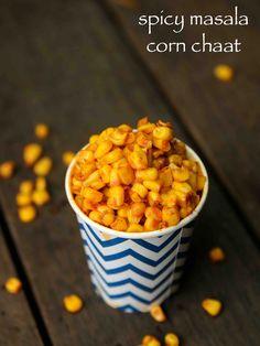 corn chaat recipe | masala corn recipe | spicy sweet corn chaat