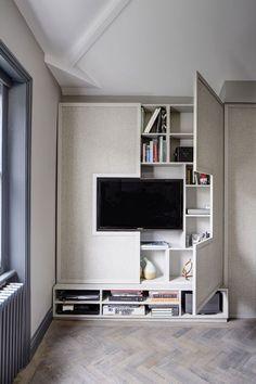 ideias painel de tv