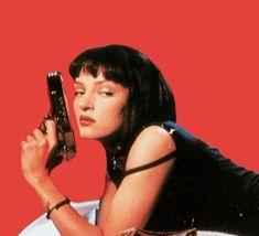 Mia Wallace, Princesa Punk, Bd Pop Art, Nicola Peltz, Kill Bill, 90s Aesthetic, Aesthetic Movies, Aesthetic Vintage, Jolie Photo