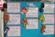 Beanie Baby Reading Strategies....so far my students are loving them. There are posters and bookmarks you can download, too.