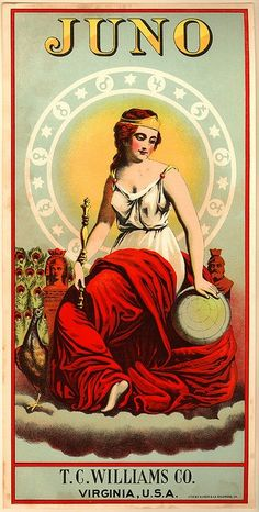 Hera/Juno - Goddess of Marriage, Family, Childbirth, Wife's, Air, Heaven and Queen of God's.