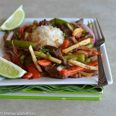 I first encountered Lomo Saltado at a popular Peruvian Latin restaurant in West Los Angeles, where it quickly became a favorite of mine. The flavor combination was Tantalizing  -  a perfect blend of ingredients.  Sautéed  strips of beef, onions, tomatoes, garlic,  and soy sauce , tossed ...