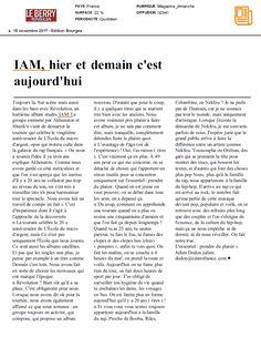 IAM dans Le Berry Républicain Bourges le 19 novembre 2017