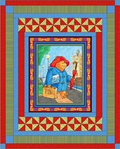 Red Rooster Quilts: Shop | Category: Patterns - Download for FREE | Product: Paddington Bear Downloadable Quilt Pattern