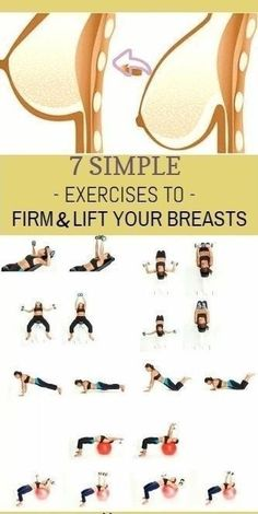 The breasts are predominately a fatty tissue located directly over top of the pectoral muscles. One of the best ways to lift your breasts is to strengthen the muscles underneath your breasts as the…