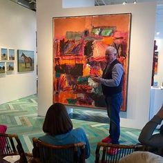 """Exceptional evening.....exceptional talent!  Dick Jemison's """"Limelight"""" is not to be missed!  Join us for gallery stroll Friday evening to meet the artist!  #greatartist #greatart #artofthewest #saltlakecity #gallerystroll"""