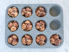 These Keto Pumpkin Spice Monkey Bread Muffins are truly the low carb breakfast of champions! Easy and fun to make, these keto monkey bread muffins have built in portion control and reheat perfectly straight from the freezer – so they can be made weeks or even months ahead!