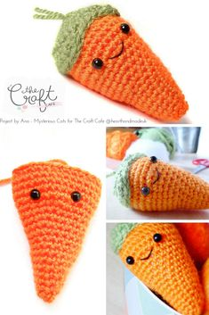 Mysterious Cats blogger Ana has joined us at The Craft Cafe with her very first post! Teaching us how to create a little amigurumi carrot for easter!