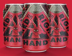 """Check out new work on my @Behance portfolio: """"Red Right Hand // VOG Brewery"""" http://be.net/gallery/51884923/Red-Right-Hand-VOG-Brewery"""