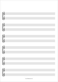 Free Blank Sheet Music in several different formats - a must for students wanting to compose and for teachers throwing together simplified versions of music students want to learn. Blank Sheet Music, Music Sheets, Music Theory Guitar, Guitar Songs, Free Printable, Piano, Arts And Crafts, Planner Ideas, Doctors