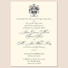 Royal Wedding Invites REVEALED Royal wedding invitation Royal