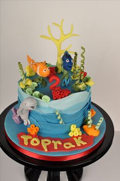 Birthday cake. Cakepops, Amazing Cakes, Birthday Cake, Desserts, Food, Birthday Cake Toppers, Wedding Cakes, Cake Ideas, Tailgate Desserts