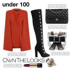 """Under 100"" by beautymanifesting ❤ liked on Polyvore featuring Aquazzura, Chanel, Dolce&Gabbana, Gucci and Lancôme"