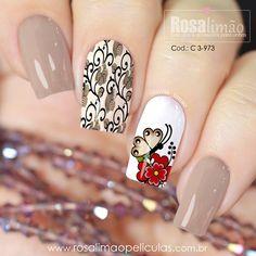 Cat Nail Art, Cat Nails, Latest Nail Designs, Cute Nail Designs, Manicure, Nail Polish Designs, Beautiful Nail Art, Nail Colors, Finger
