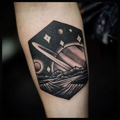 Unique & Desirable Saturn Tattoos