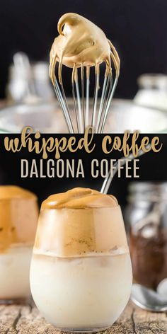Dalgona Coffee is the light-as-air instant whipped coffee treat you can make at home. No special equipment needed. Dalgona Coffee is the light-as-air instant whipped coffee treat you can make at home. No special equipment needed. My Coffee, Coffee Drinks, Starbucks Drinks, Coffee Gifts, Coffee Creamer, Coffee Pods, Coffee Break, Drinks Alcohol Recipes, Yummy Drinks
