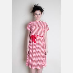 candy striper cotton dress.