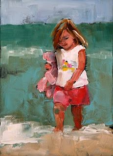 Carol Carmichael Peintures  pataugeoire 5x7