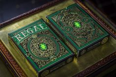 Regal Green Playing Cards Deck Brand New