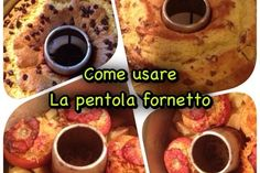 Cucina senza forno: come usare la pentola fornetto Food Therapy, Biscotti, Italian Recipes, Food To Make, Cooker, Food And Drink, Homemade, Breakfast, Healthy