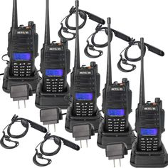 Amazing offer on Retevis Two Way Radios Waterproof 128 CH VHF UHF Dual Band SOS Alarms Flashlight FM Long Range Walkie Talkies Earpiece Pack) online - Chicetorclothing Call Tone, Camping Gadgets, Two Way Radio, Low Lights, Walkie Talkie, Flashlight, Radios, Band