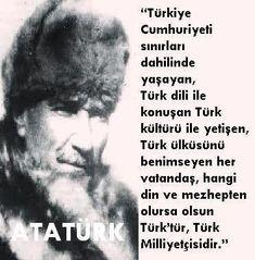 Türk Türkçü Atatürkçü Milliyetçi Ulusalcı Ülkücü T