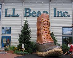 L.L. Bean flagship store in Freeport, Maine