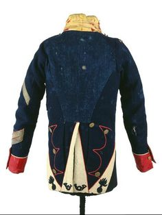 Habit-veste of sergeant of the 116th French line infantry regiment
