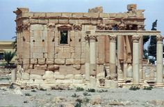 Palmyre (Syrie) - Temple de Baal-Shamin