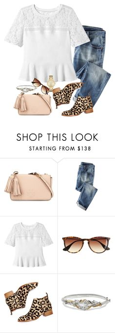 """""""Pale pink and cheetah"""" by preppygirlusa ❤ liked on Polyvore featuring Tory Burch, Rebecca Taylor, J.Crew, Jeffrey Campbell, Alexis Bittar, Kate Spade, women's clothing, women, female and woman"""
