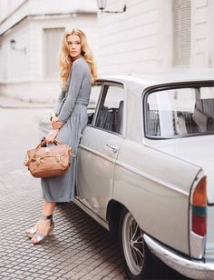Perfect seventies style photography by Anne Menke for Lucky Magazine via thisisglamorous.com
