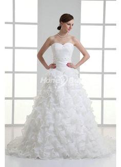 Organza A Line Sweetheart Wedding Dress Cool Style http://www.honeybuy.com/c/wedding-dresses-promotion?utm_source=LMPIN_medium=LMPIN_campaign=LMPIN