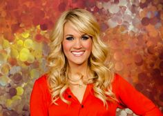 Carrie Underwood's hair with side bangs