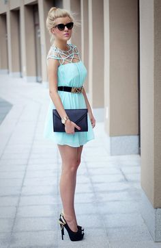 EstelleFashion - Blog o modzie: Subtelna mieta..