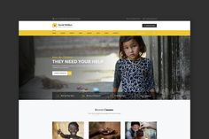 Social Welfare: Charity & Non-Profit HTML Template by WPmines on Envato Elements