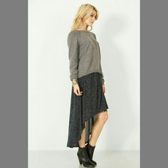Dip Low Skirt! KravePink.com #skirt #fashion #style #kravepink #StyleSavvy #shop #clothes #cute #sexy #asymmetrical