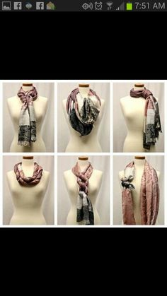 Scarves - how to wear it right!