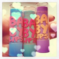 Baby lips by maybelline Just Girly Things, All Things Beauty, Beauty Nails, Beauty Makeup, Makeup Collage, Baby Lips, Love Makeup, Makeup Addict, Makeup Products