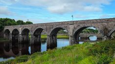 Newport nestles on the shore of Clew Bay. The railway viaduct is the town's centre piece over the Black Oak River. Discover more. County Mayo, Newport, Bridges, Trains, Natural Beauty, Scotland, Centre, Ireland, Remote
