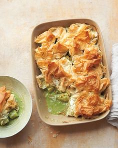 I am sitting here in LA dreaming of the Green Curry Pot Pie from SF's B*Star cafe and--BAM--what do you know? Martha comes to the rescue.