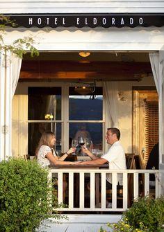 Lakeside Restaurant dining in Kelowna   Hotel Eldorado