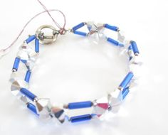 Royal Blue Crystal Bracelet, Genuine Swarovski Crystal Bracelet, Beautiful Blue Jewelry